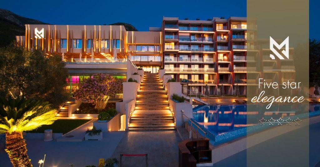 Το Maestral Resort & Casino αναδείχθηκε το καλύτερο ξενοδοχείο στο Μαυροβούνιο