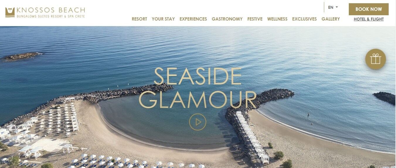 Tο Knossos Beach εμπιστεύτηκε τη δημιουργία της νέας